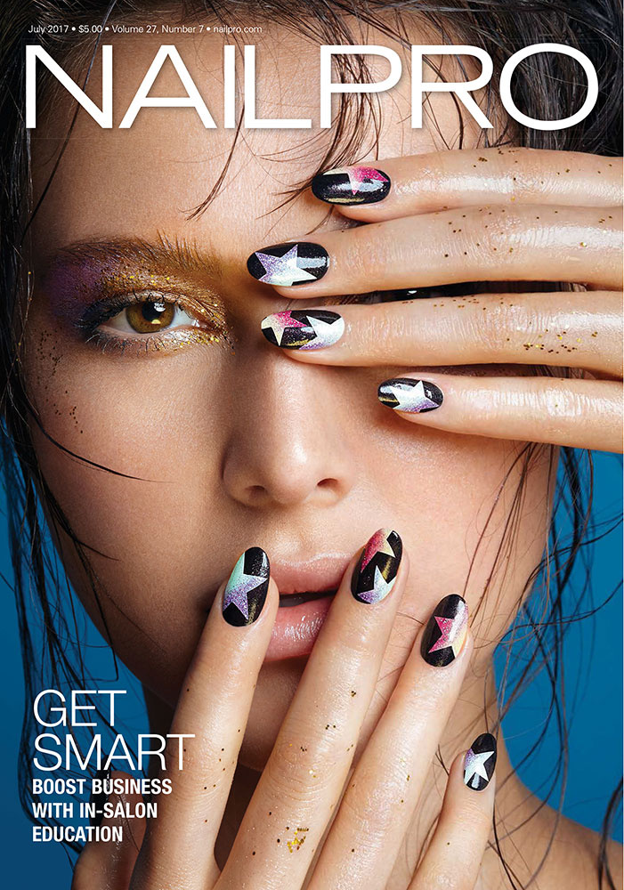 NAILPRO Magazine July 2017 cover