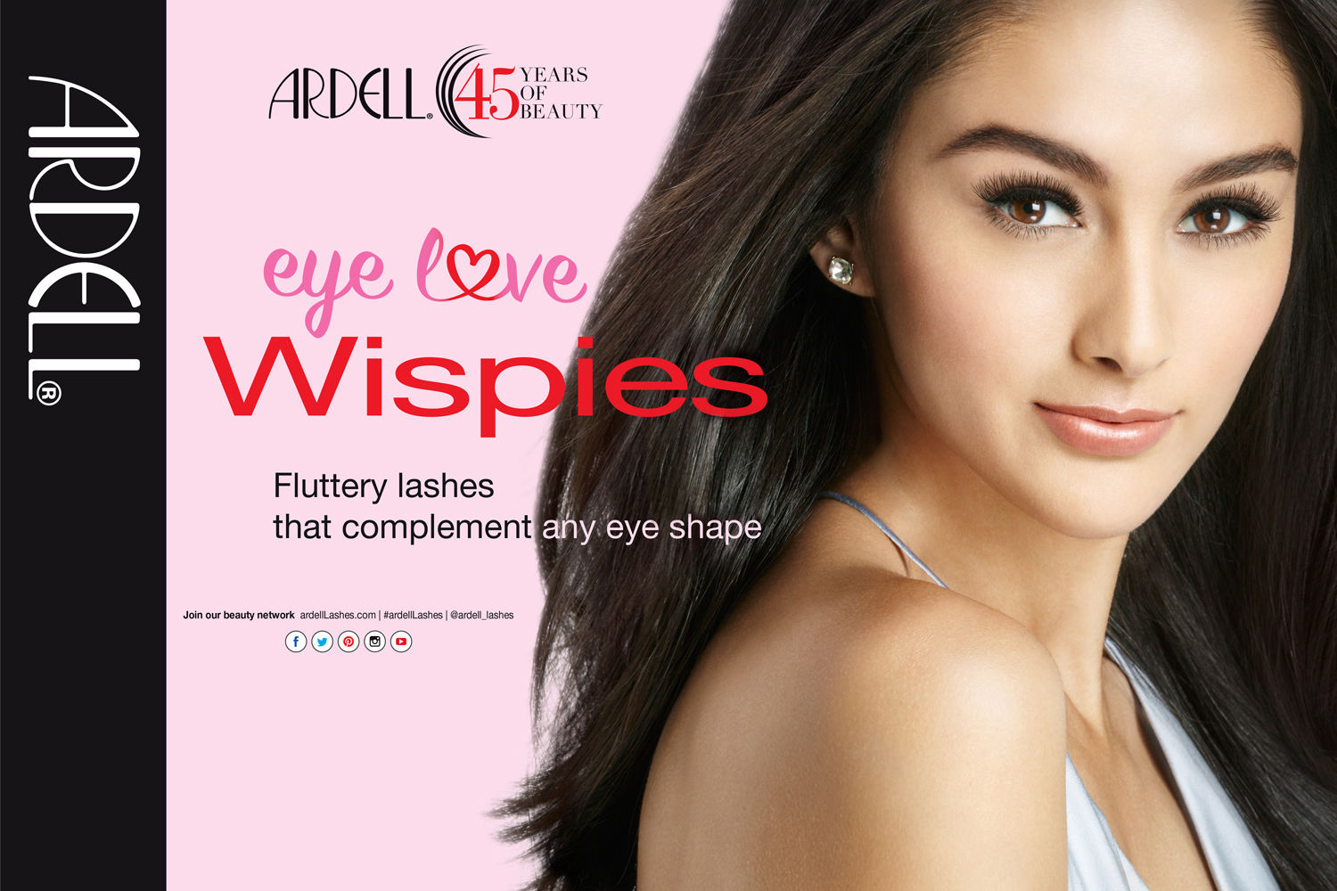 ARDELL LASH CAMPAIGN  45 YEARS OF BEAUTY